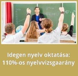 nyelvvizsga arány magas